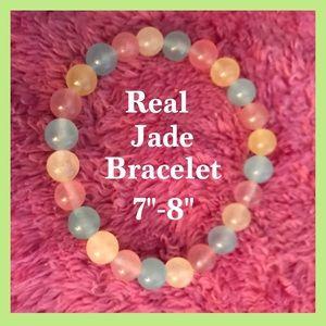 Handmade Real Jade Bracelet